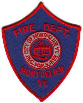 Montpelier Fire Department badge