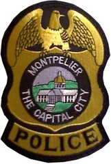 Montpelier Police Badge shoulder patch