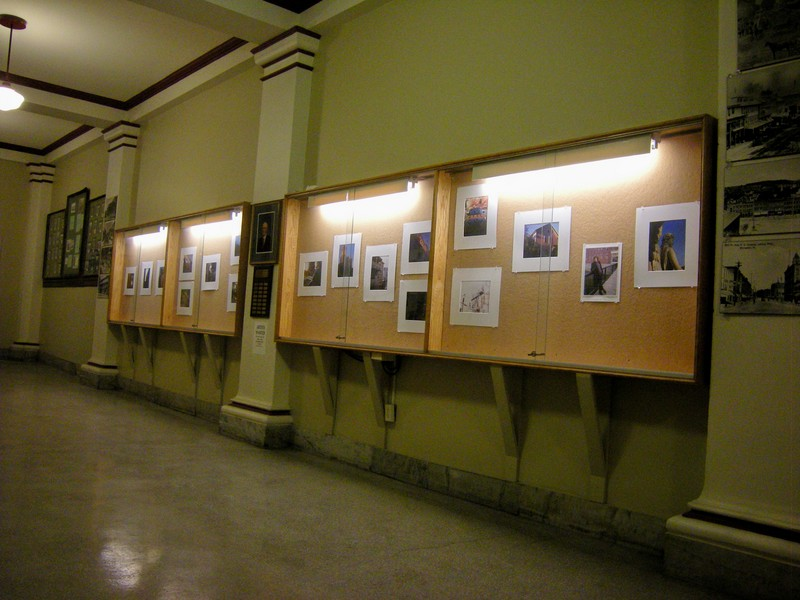 City Hall Art Display Cases