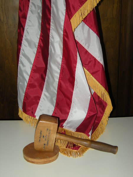 Flag and Gavel