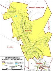 Park West Neighborhood Map