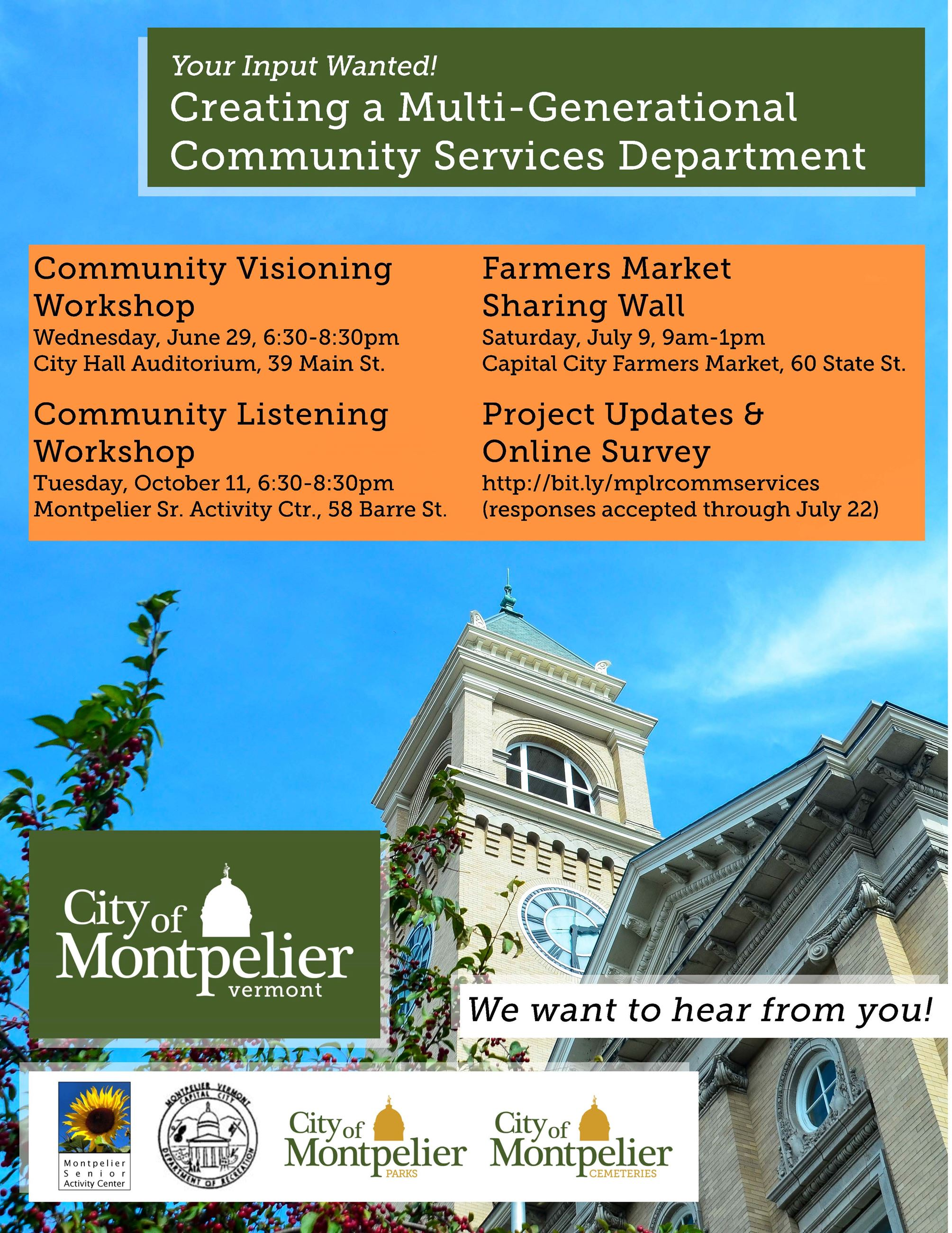 Community Services POSTER
