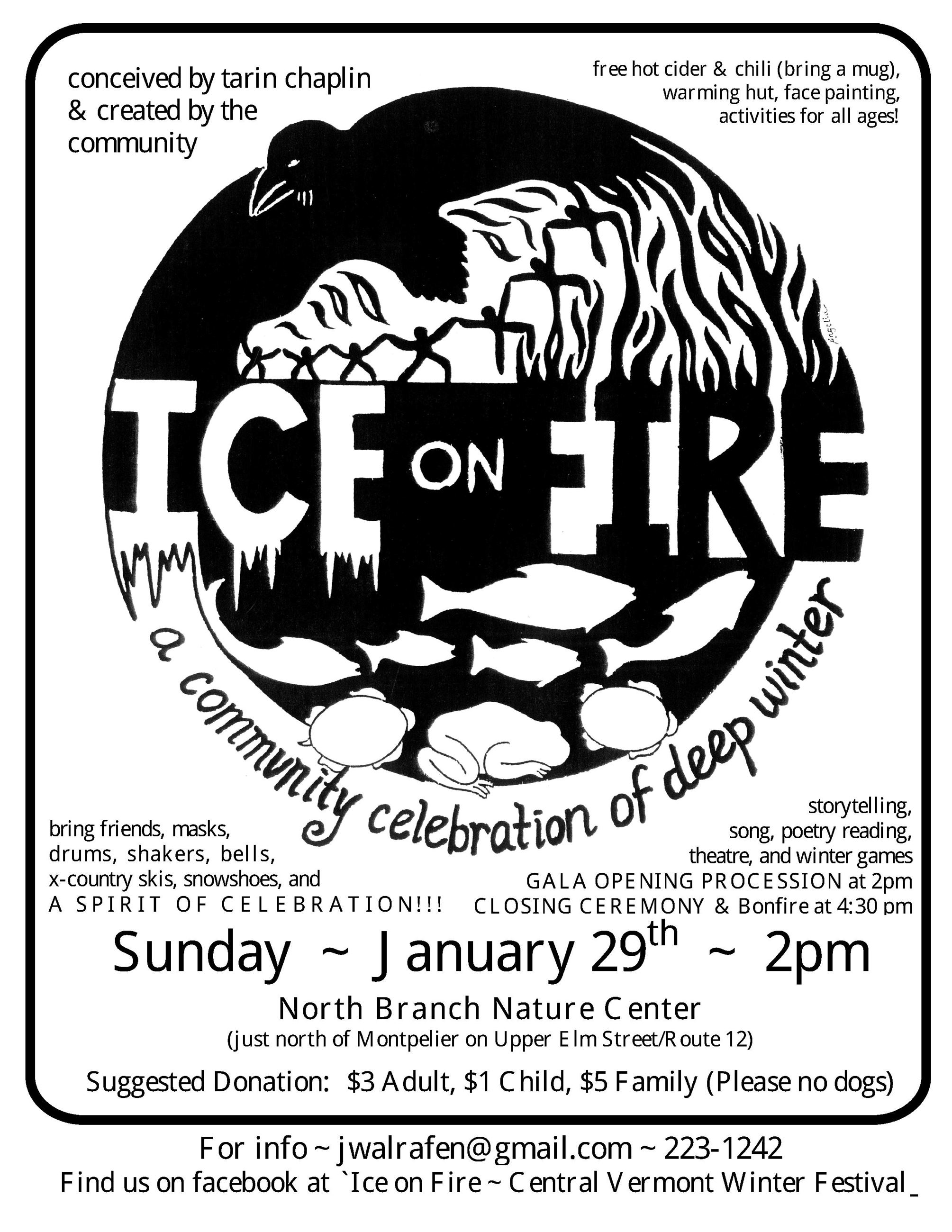ice on fire 2017 poster