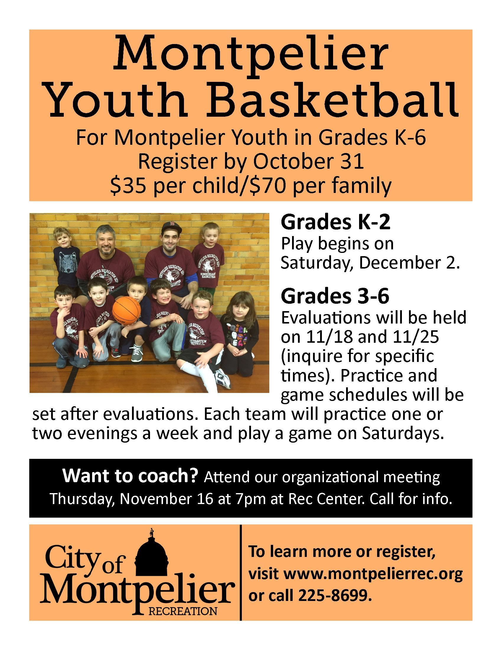 2017 10 19 Youth Basketball