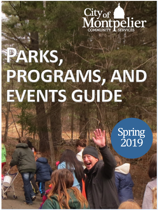 2019 Spring Program guide cover Opens in new window